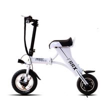 法克斯 MiniFox 迷你折叠电动车便携时尚助力成人小电动自行车都市电动 白色青春版30公里产品图片主图