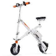 Airwheel 爱尔威 E6折叠电动车 智能滑板车 电动自行车 代步车 白色