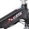 喜德盛 电动自行车 折叠电动车 36V锂电池 14寸超轻迷你代驾车 先行者3 电动车 黑色产品图片4