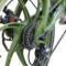 易可达 镁铝合金五级变速智能助力可折叠锂电电动自行车20寸一体轮男女式学生成人通用 军中绿产品图片3