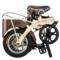 堡森 Instone硬石头智能自行车36V锂电折叠车12寸成人特制钢架休闲通勤代步代驾便携式单车产品图片3