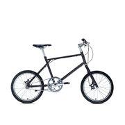 700Bike 后街MINI 个性变速小轮城市公路自行车小巧轻便 五色可选 黑色 内三速版