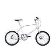 700Bike 后街MINI 个性变速小轮城市公路自行车小巧轻便 五色可选 白色 内三速版