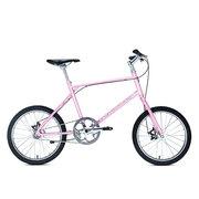 700Bike 后街MINI 个性变速小轮城市公路自行车小巧轻便 五色可选 粉色 单速版