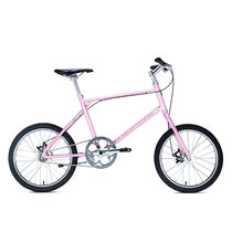 700Bike 后街MINI 个性变速小轮城市公路自行车小巧轻便 五色可选 粉色 单速版产品图片主图