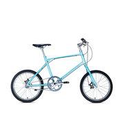 700Bike 后街MINI 个性变速小轮城市公路自行车小巧轻便 五色可选 蓝色 单速版