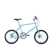 700Bike 后街MINI 个性变速小轮城市公路自行车小巧轻便 五色可选 蓝色 内三速版