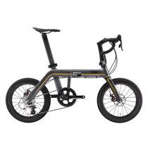 700Bike 预售 30天发货 新一代城市折叠车银河GalaxyPro 铝碳变速智能自行车 蛇信红产品图片主图