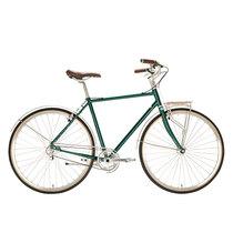 700Bike 美术馆 优雅通勤 城市公路自行车 智能单车 自动变速 GPS定位 蟒袍绿 L产品图片主图