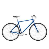 700Bike 后街 城市公路自行车 男女款智能单车 自动变速 GPS防盗 五色可选 天际蓝 XL(181-190)产品图片主图