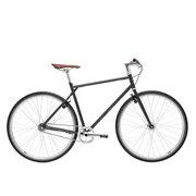 700Bike 后街 城市公路自行车 男女款智能单车 自动变速 GPS防盗 五色可选 暮色灰 XL(181-190)