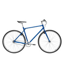 700Bike 后街 城市公路自行车 男女款智能单车 自动变速 GPS防盗 五色可选 天际蓝 L(173-180)产品图片主图