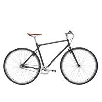 700Bike 后街 城市公路自行车 男女款智能单车 自动变速 GPS防盗 五色可选 暮色灰 L(173-180)产品图片主图