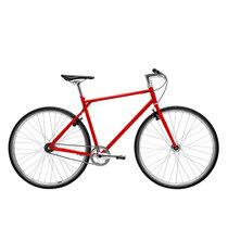 700Bike 后街 城市公路自行车 男女款智能单车 自动变速 GPS防盗 五色可选 火山红 L(173-180)产品图片主图
