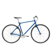 700Bike 后街 城市公路自行车 男女款智能单车 自动变速 GPS防盗 五色可选 天际蓝 M(163-172)