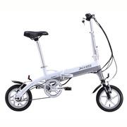 喜德盛 折叠迷你电动车 mini denpo 超轻 电动自行车 锂电池 电动车 36V迷你3 白色 12寸