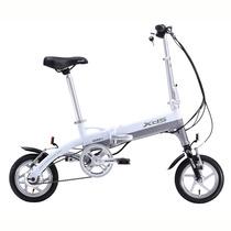 喜德盛 折叠迷你电动车 mini denpo 超轻 电动自行车 锂电池 电动车 36V迷你3 白色 12寸产品图片主图