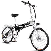 哥得圣 电动自行车成人轻便携迷你可折叠锂电池电动滑板车48V电瓶车代步助力变速男女士电单车 16寸20寸旗舰版48V付款需留言尺寸和颜色产品图片主图