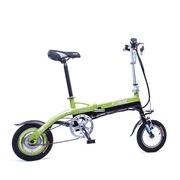 永久 迷你 折叠便携式电动车 锂电自行车MINI绿