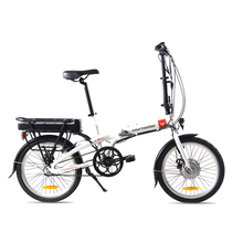 smartmotion 新西兰 e20 eco 电动自行车锂电池 折叠电动自行车 内三变速助力自行车 20寸 白色产品图片主图
