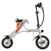 索罗门 K1 成人两轮代驾便携折叠电动自行车/密码解锁/手机充电/标准版/白色(厂家配送)产品图片主图