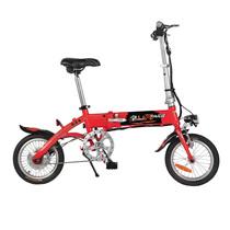 台铃  电动自行车 36V锂电14寸助力车铝合金代驾车 TDT158Z小钰铃新光红产品图片主图