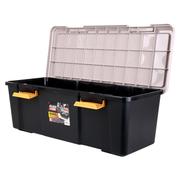 爱丽思 RV770D 环保后备箱储物箱 车载整理收纳箱 黄/黑色