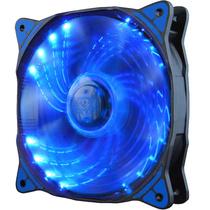 超频三 冰风蓝 机箱风扇 (12cm蓝光风扇/电脑电源风扇/CPU风扇)产品图片主图
