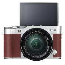 富士 X-A3 XC16-50mm 棕褐色 微单电套机 2420万像素 3.0英寸180度多点触摸屏 WIFI遥控 USB充电产品图片主图
