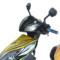 华速 雷霆王电动车 60V超威电池 电动摩托车 电动摩托车迅鹰踏板车 电瓶车 酷黑 60v 超威/天能黑金可以续航100公里 电池随机产品图片3