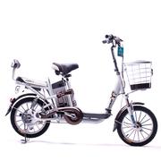永久 电动车 foreve天能锂电车 朗动 16吋锂电车 48V10AH 锂电池电动自行车 咖啡色
