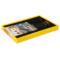 爱丽思 带盖折叠筐收纳筐 折叠箱OC-28L黄/黑产品图片2
