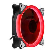 爱国者  极光 12CM红光 电脑机箱风扇(小3P+大4P双接口/水冷排散热/减震脚垫/赠4螺丝)