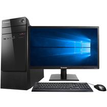 联想 扬天M3900c 台式电脑( E1-7010 4G 500G 集成显卡 千兆网卡 win10 64位) 20英寸产品图片主图