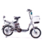 永久 电动车 foreve天能锂电车 朗动 16吋锂电车 48V10AH 锂电池电动自行车 浅蓝色产品图片3