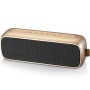 山水 T16无线蓝牙音箱手机便携小音响收音机插卡低音炮电脑小钢炮 土豪金