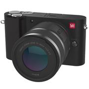 小蚁 微单相机单镜头套装黑色 型号M1 标准变焦12-40mmF3.5-6.6镜头套装 可换镜头式智能相机