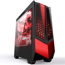 AOC AGV01/D 黑色中塔式机箱(原生USB3.0/支持ATX主板/支持分体式水冷/全侧透/背走线/支持长显卡)产品图片主图