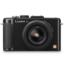 松下 LX7 数码相机 黑色(1010万像素 3英寸液晶屏 3.8倍光学变焦 24mm广角)产品图片主图