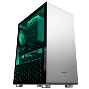 乔思伯 U4 银色 ATX机箱 (支持ATX主板/高塔散热器/ATX电源/全铝外壳/5MM厚度钢化玻璃侧板)
