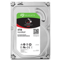 希捷 酷狼系列 4TB 5900转64M SATA3 网络储存(NAS)硬盘(ST4000VN008)产品图片主图