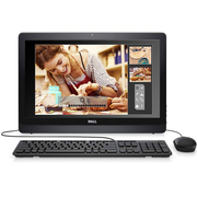戴尔 Inspiron 22 3265-R5208B 灵越21.5英寸IPS一体机电脑(E2-7110 4G 500G集显Win10)黑