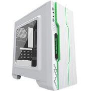 大水牛 潘多拉 白色 MINI机箱(支持ATX主板/支持双水冷排/七彩呼吸灯/多硬盘支持/U3)