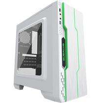 大水牛 潘多拉 白色 MINI机箱(支持ATX主板/支持双水冷排/七彩呼吸灯/多硬盘支持/U3)产品图片主图