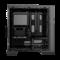 大水牛 潘多拉 黑色 MINI机箱(支持ATX主板/支持双水冷排/七彩呼吸灯/多硬盘支持/U3)产品图片4