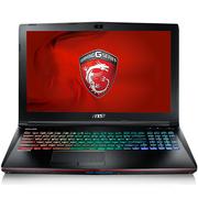 微星 GE62 VR 6RF-078CN 15.6英寸游戏笔记本电脑 (i7-6700HQ 8G 1T+128GSSD GTX1060 多彩背光) 黑