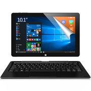 酷比魔方 iwork10旗舰本 10.1英寸二合一平板电脑 双系统(正版windows10+安卓5.1 4G/64GB)前黑后蓝