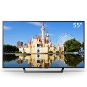 索尼 55英寸高清4K HDR 安卓6.0系统 智能液晶电视(KD-55X7000D 黑色)