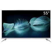 长虹 55D3S 55英寸 HDR 人工智能语音 25核 轻薄 4K超清智能平板液晶电视(太空灰)