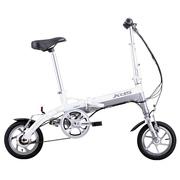 喜德盛 折叠迷你电动车 mini denpo 超轻 电动自行车 锂电池 电动车 迷你2 双电池 白色 12寸